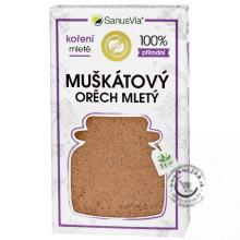 Muškátový orech mletý BIO 29g, SanusVia