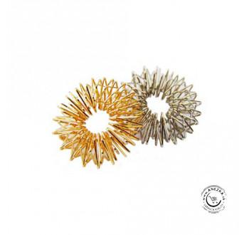 Akupresúrny masážny prsteň nerezový (11003) SUJOK