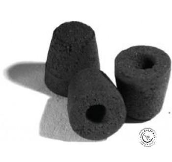 Uhlíkové mini moxy kužeľovité na ohrievanie ihiel - nedymiace 100 ks