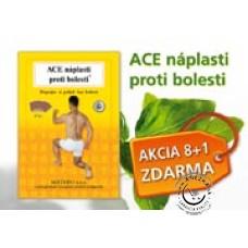 AKCIA 8+1 ACE náplaste proti bolesti (54 náplastí)