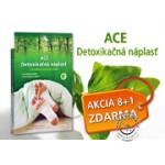 AKCIA 8+1 ACE Detoxikačné náplasti (celkom 72 náplastí)