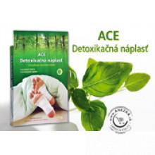 ACE Detoxikačné náplasti / vankúšiky 8ks / EXP 28/02/2021