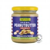 Pasta z arašidových orechov krupavá BIO 250 g 91% RAPUNZEL