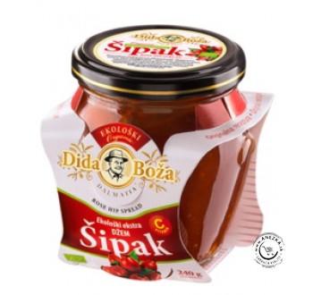 BIO Džem Šípka 96% ovocia 240g