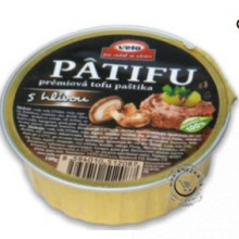Prémiová tofu paštéta - s hlivou 100g, Patifu