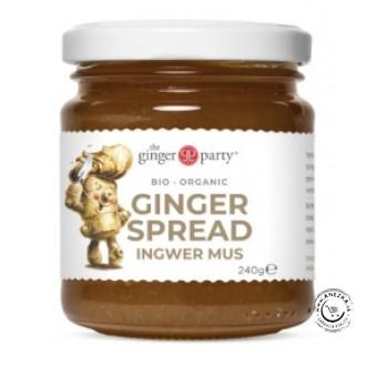 BIO Zázvorová nátierka – sladené zázvorové pyré 240g, Ginger Party