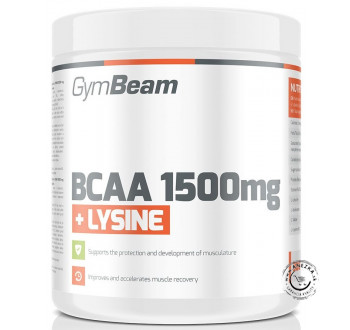 BCAA 1500 + Lysin 300tbl., GymBeam
