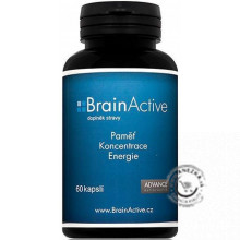 BRAIN ACTIVE - pamäť, koncentrácia, energia 60kps., Advance Nutraceutics