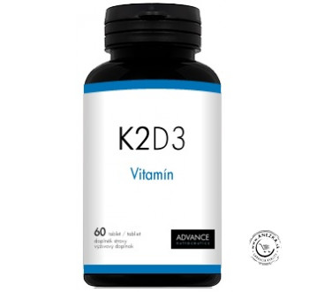 K2D3 - 60tbl., Advance Nutraceutics