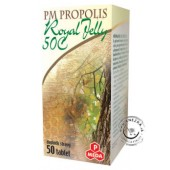 PM Propolis 50 C + Royal Jelly tabliet 50x500mg NOVINKA