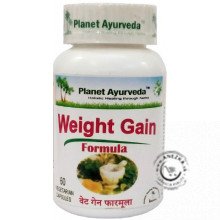 Weight Gain Formula - 60 kapsúl, Planet Ayurveda