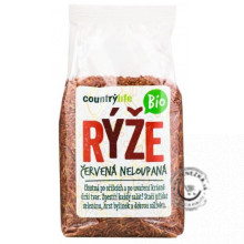 Ryža červená natural BIO 500g, Country Life