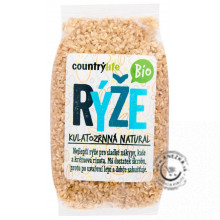 Ryža guľatozrnná Natural BIO 500g, Country Life