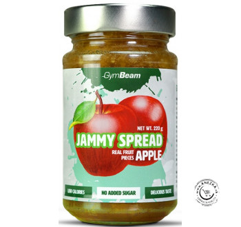 Džem - Jammy Spread - jablko 220g, GymBeam EXP 12/12/2019