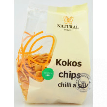 Kokos chips - chilli a soľ 100g, Natural Jihlava