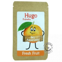 Žuvačky bez aspartamu - Fresh Fruit 45g, Hugo
