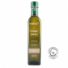 Chia panenský olej RAW Wolfberry 500 ml